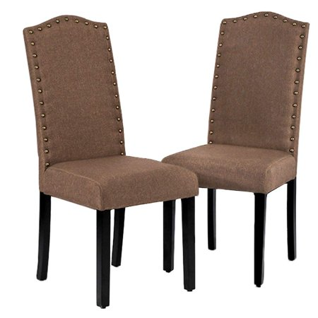 Dining Room Chairs Armless Kitchen Wood Chair Accent Solid Modern Style For Living Home Furniture (set of 2)