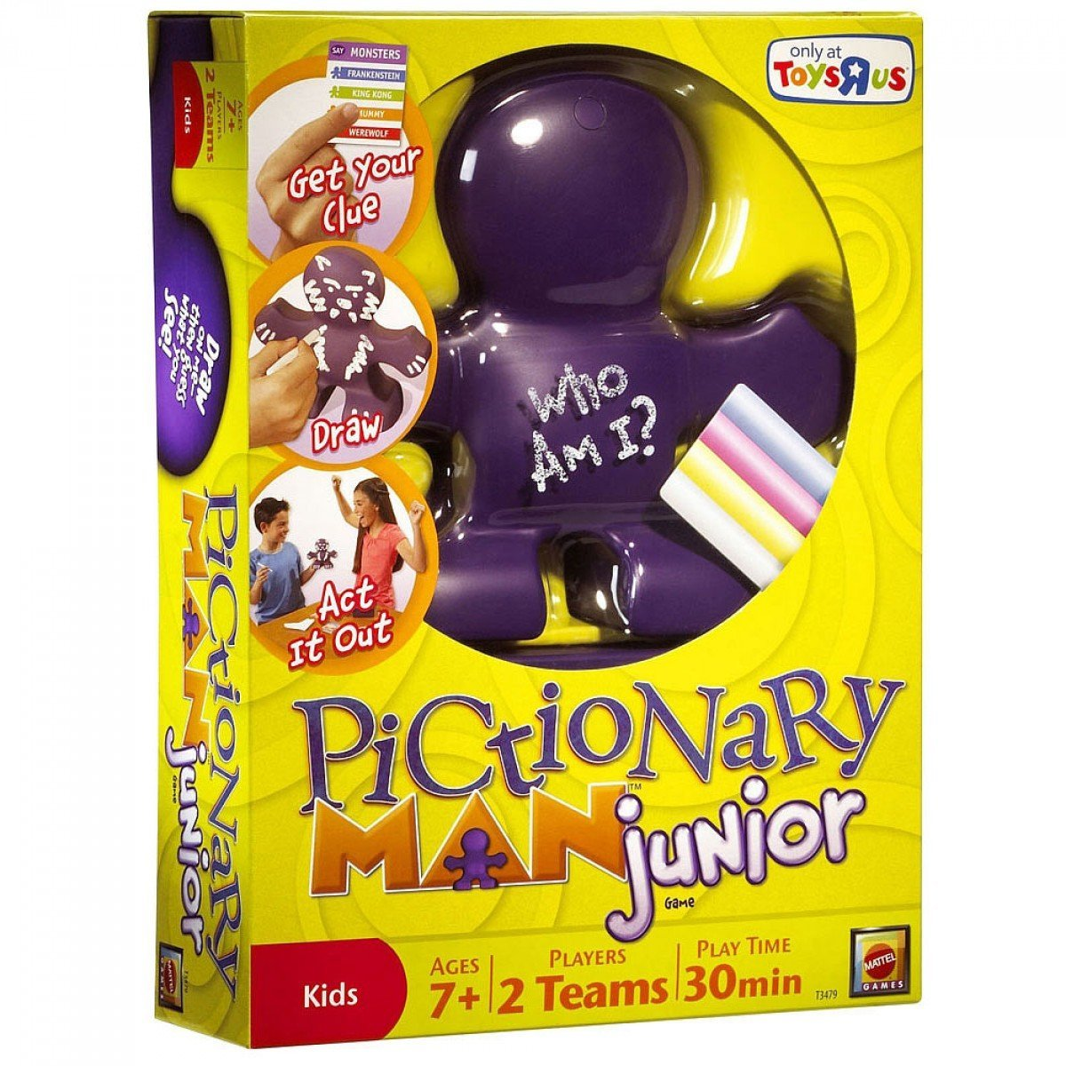 Pictionary Man Junior Jr. Game By Mattel