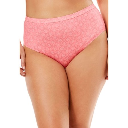 07144b54f Woman Within - Plus Size No-show High-cut Brief By Comfort Choice -  Walmart.com