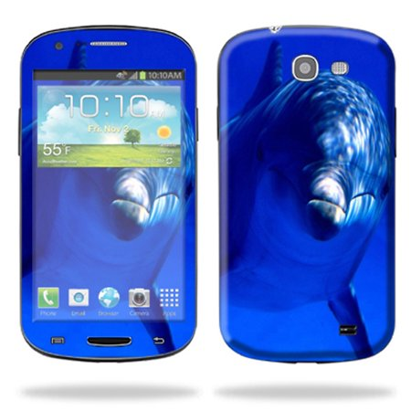 Mightyskins Protective Skin Decal Cover for Samsung Galaxy Express Cell Phone AT&T wrap sticker skins Dolphin