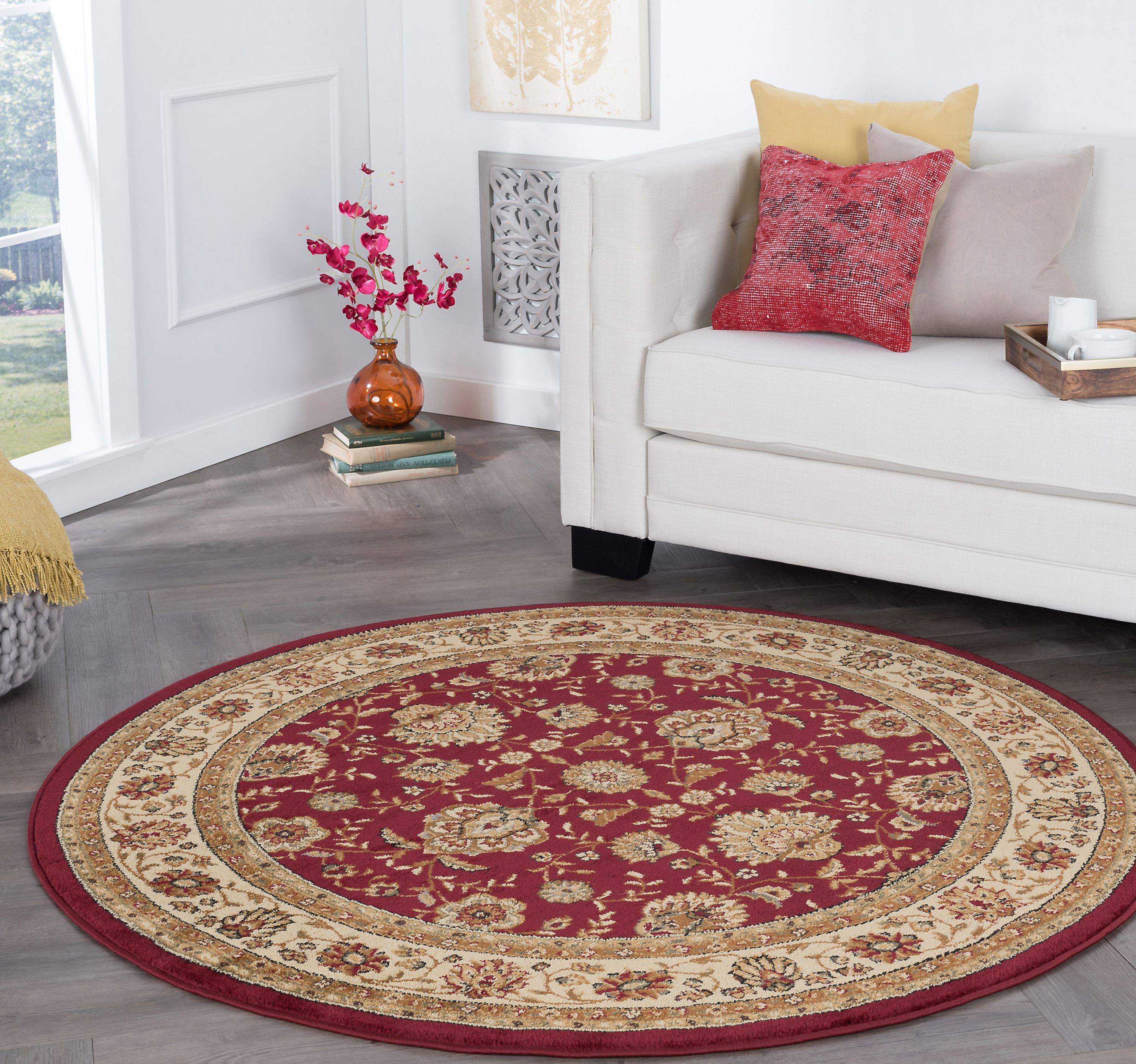 Bliss Rugs Roanoke Traditional Area Rug Walmart Com