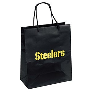 PSG Foil Gift Bag - NFL Pittsburgh Steelers