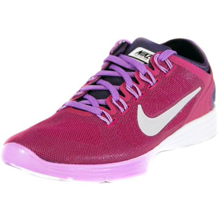 Nike Womens Lunar Hyperworkout XT+ Running Shoes Fuchsia/Grey/Purple