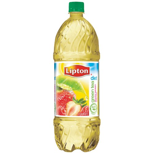 Lipton Diet Green Tea with Mixed Berry, 1.5 l