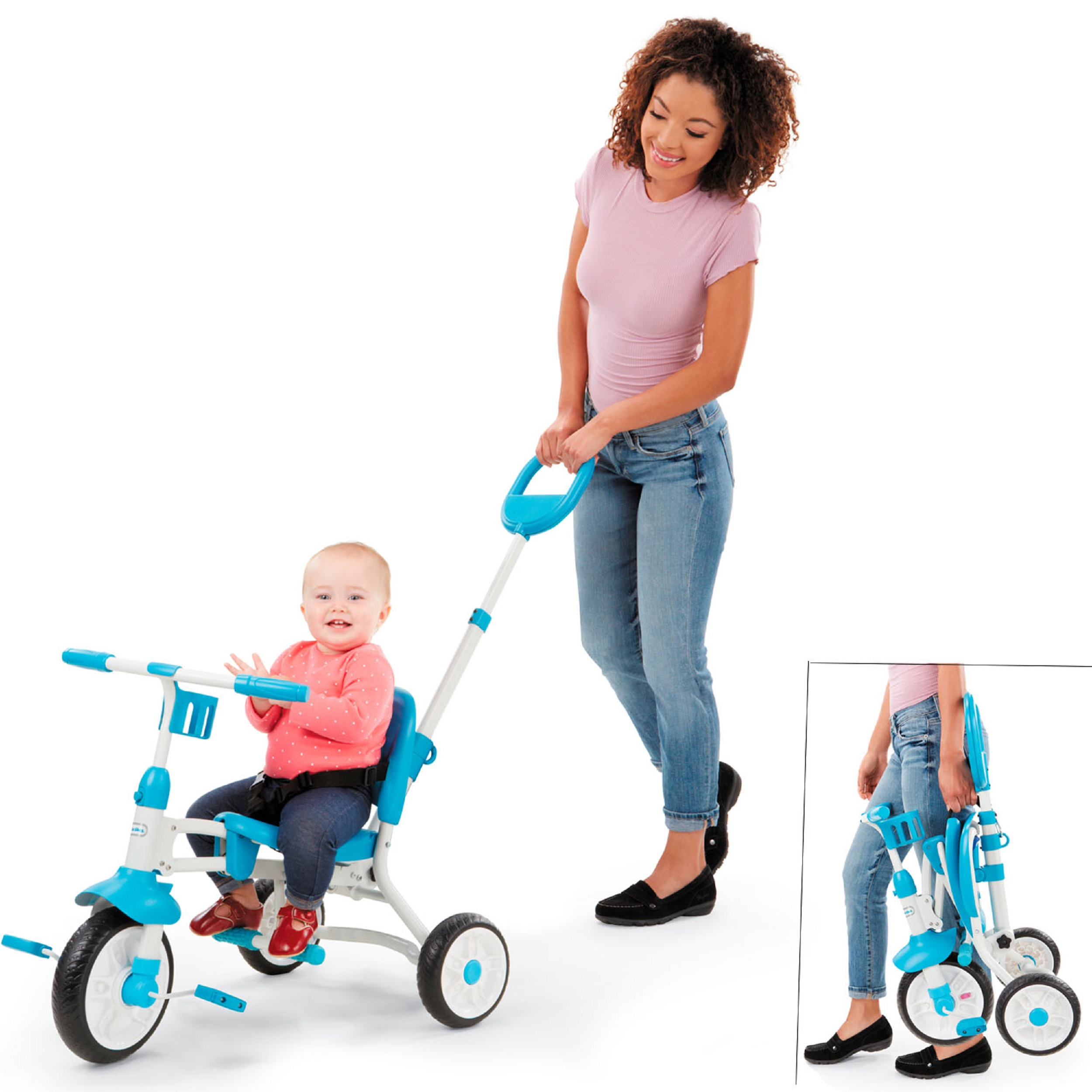 Little Tikes Pack 'n 3-in-1 Go Trike, Teal
