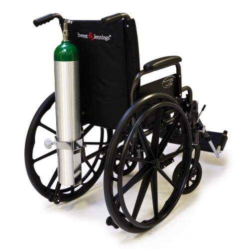 Everest and Jennings O2 Cylinder Holder Oxygen Carrier