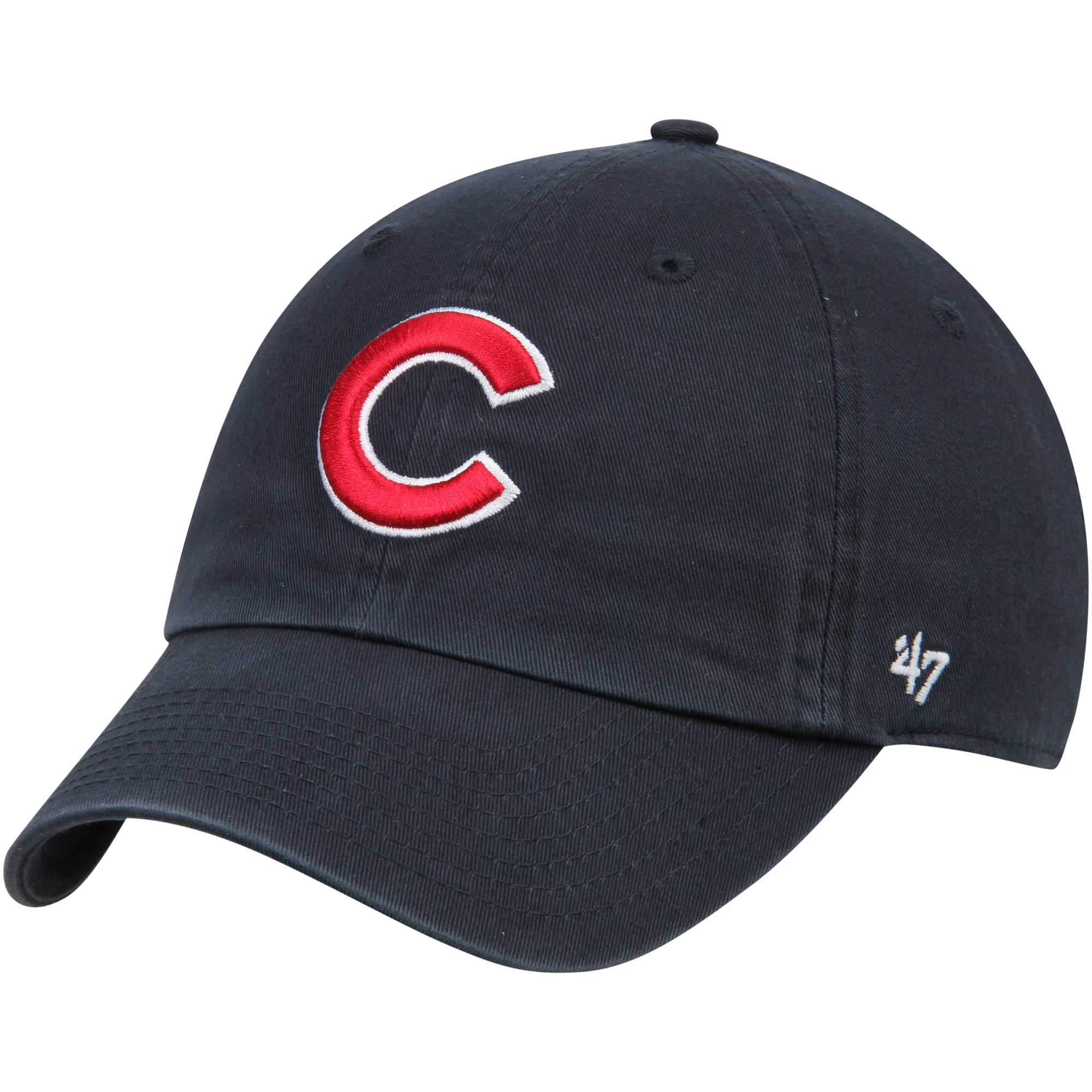 Chicago Cubs '47 C Clean Up Adjustable Hat - Navy - OSFA