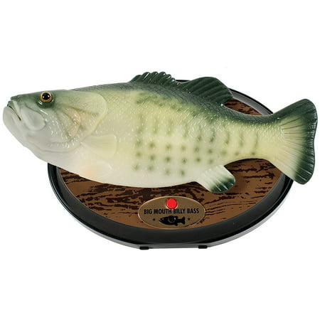 Big Mouth Billy Bass- The Singing - Big Mouth Shell