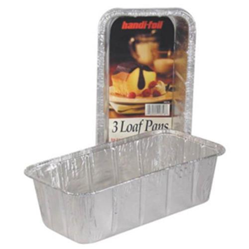 Handi-Foil 20316TL-15 2 lbs.  Loaf Pan