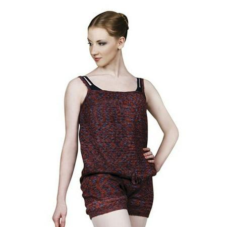 b0b5d32bbc4 Sansha Womens Burgundy Charcoal Kloe Camisole Dancewear Jumpsuit ...