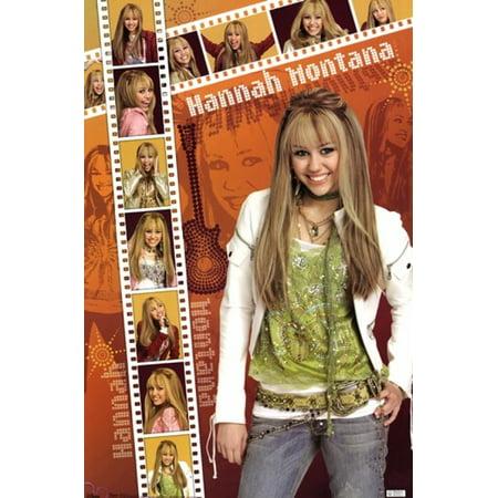 Hannah Montana Photos - Hannah Montana - Film Strip Poster Poster Print