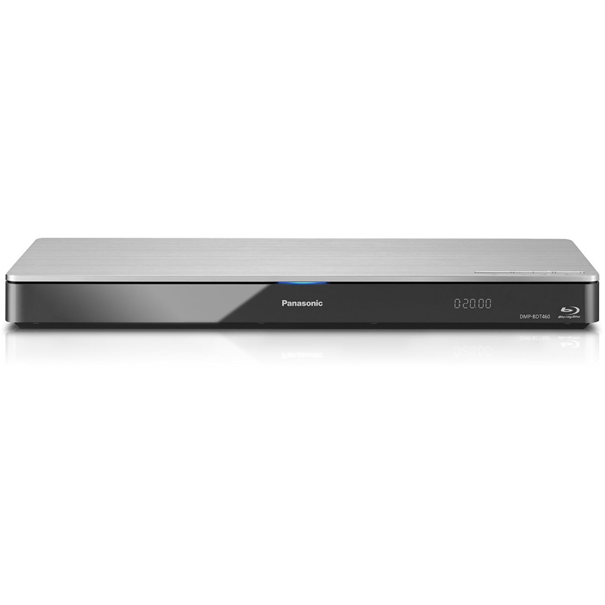 O Blu ray Inteligente Panasonic red 4K sobre escalado 3D Blu-Ray Disc Streaming reproductor DMP-BDT460 (plata), WiFi, doble HDMI, Miracast + Panasonic en VeoyCompro.com.co