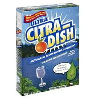 Citra-Solv Citra Dish Automatic Dishwasher Detergent - Valencia Orange - Case of 12 - 45 Fl oz.