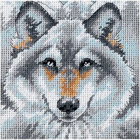 Glass Needlepoint Kit - Dimensions