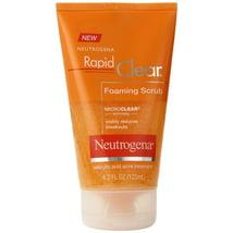 Facial Cleanser: Neutrogena Rapid Clear Foaming Scrub