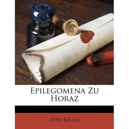 Epilegomena Zu Horaz - image 1 de 1