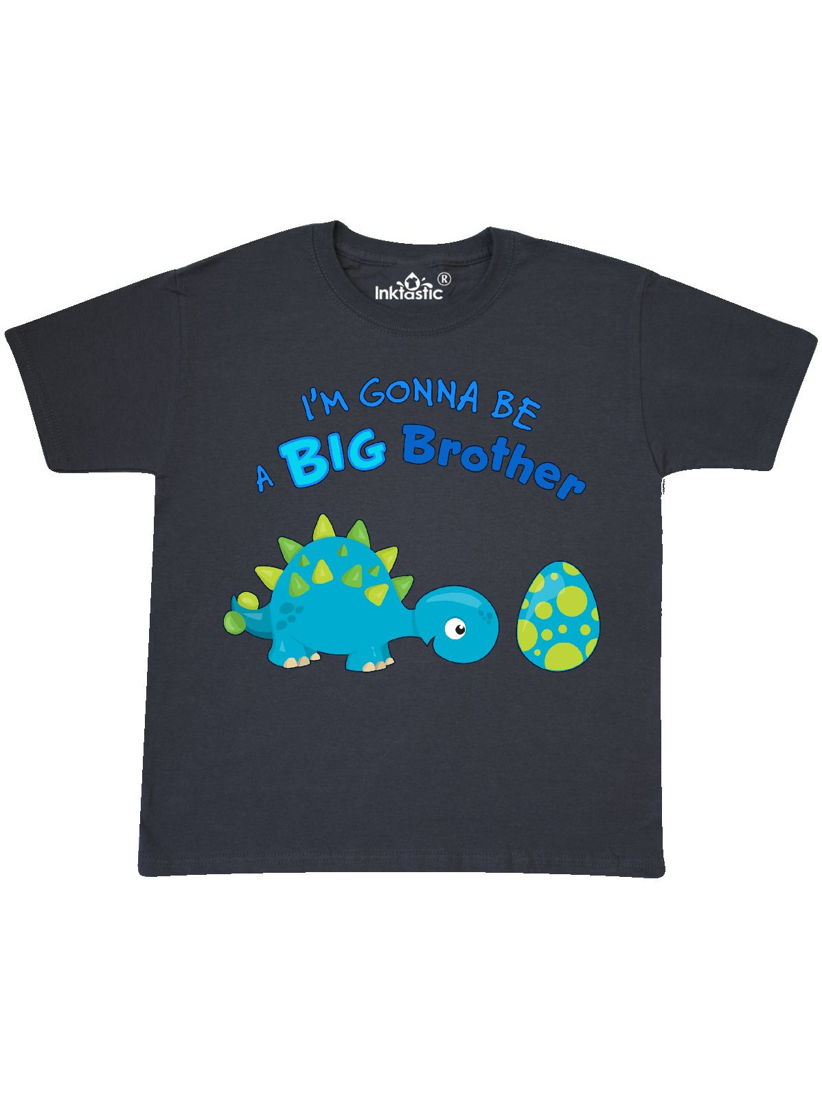 Happy Dinosaur Future Big Brother Youth T-Shirt