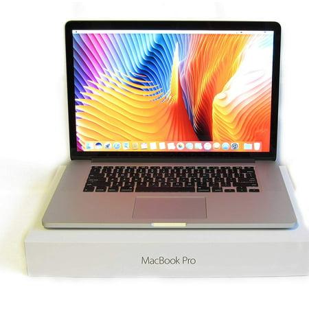 NEW Apple MacBook Pro 15-Inch Retina Laptop i7 2.5GHz - 3.7GHz / 16GB DDR3 Ram / 512GB SSD / Radeon R9 M370X 2GB Video / OS X Mojave / HDMI / MJLT2LL/A