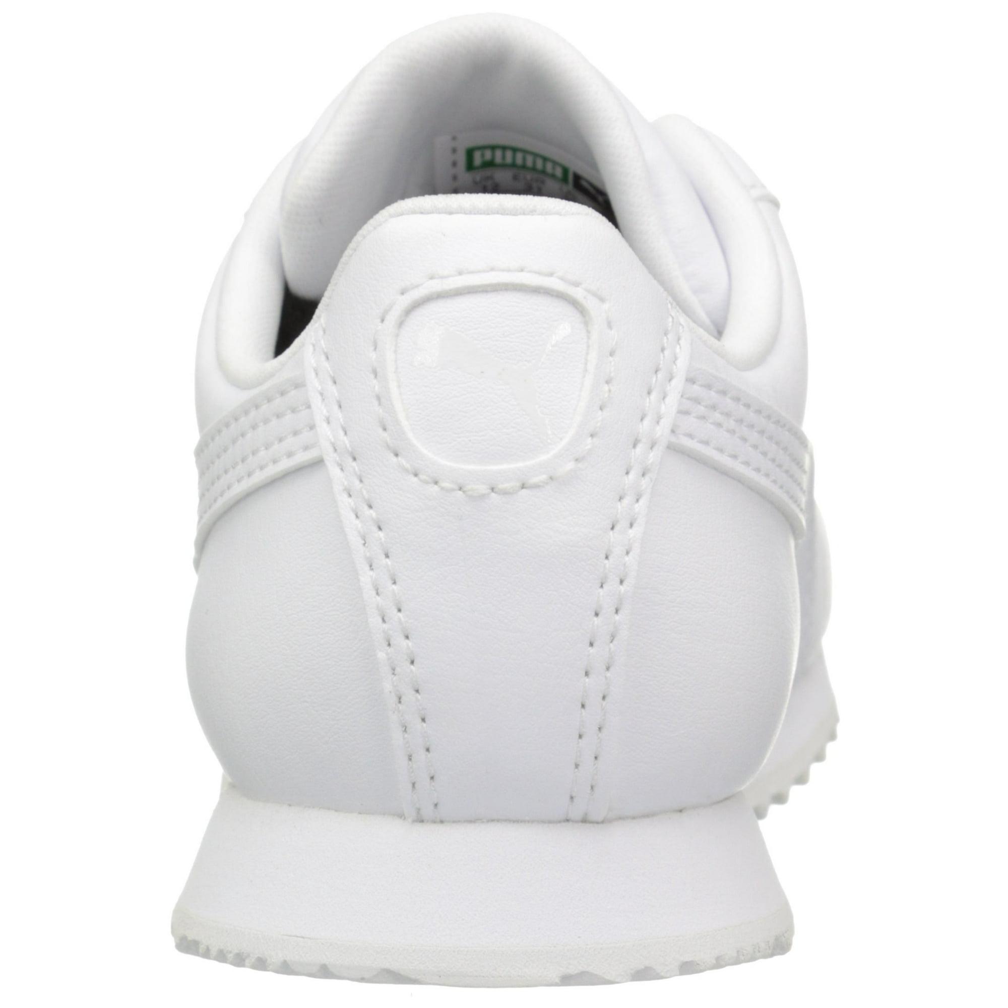 e8e0633cf92 Buy Puma 361594-14: Boys' Roma Basic PS-K Kid White Sneaker ...