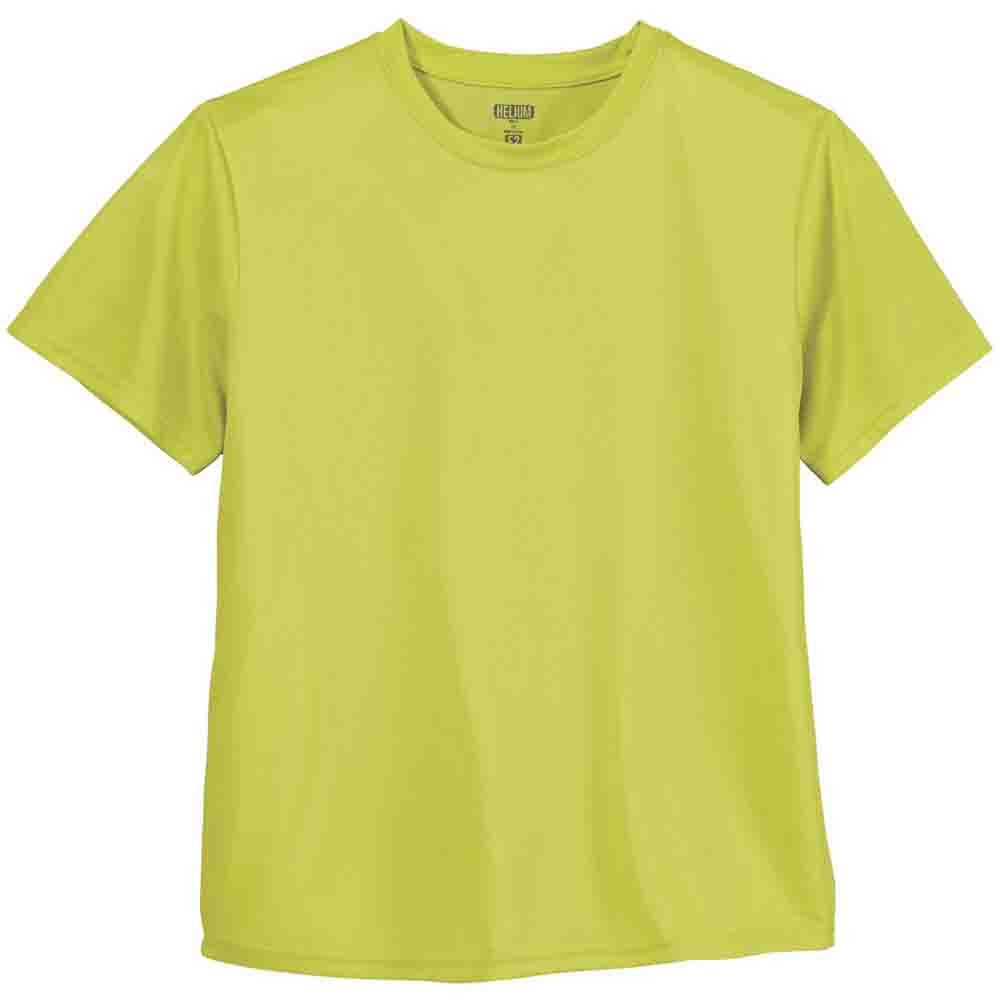 Green Layer  Helium E2 Performance Tee  Casual   Tops Mens Grey