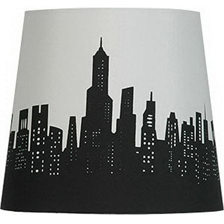 Mainstays cityscape lamp shade walmart mainstays cityscape lamp shade aloadofball Images