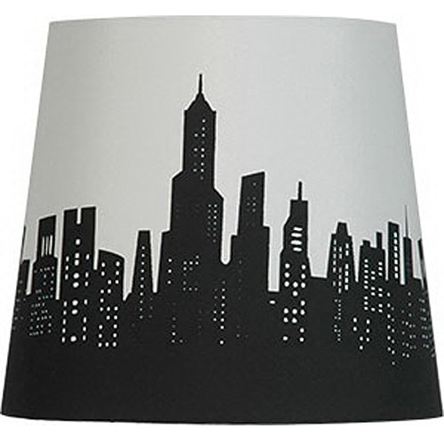 High Quality Mainstays Cityscape Lamp Shade