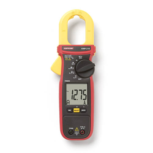 Amprobe AMP-210 600V/600A True-RMS AC Clamp Multimeter wi...
