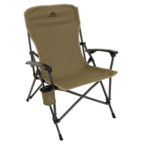 Alps Mountaineering Leisure Chair Portable Khaki Fold Up