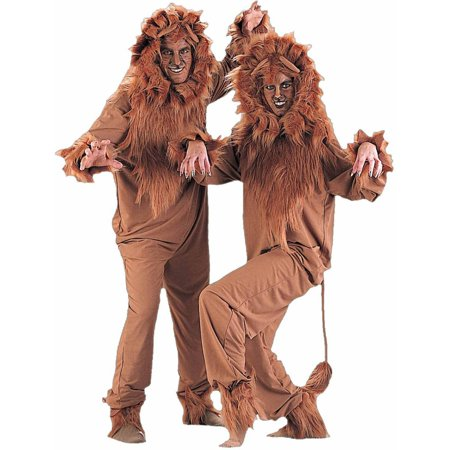 Mens Lion Costumes (Lion Men's Adult Halloween)
