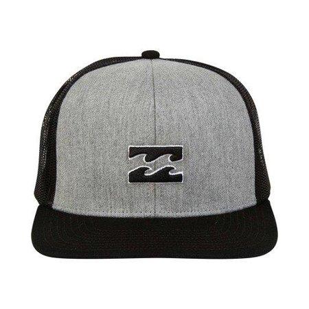 Mens Billabong (Grey Heather) All Day Trucker Hat ()