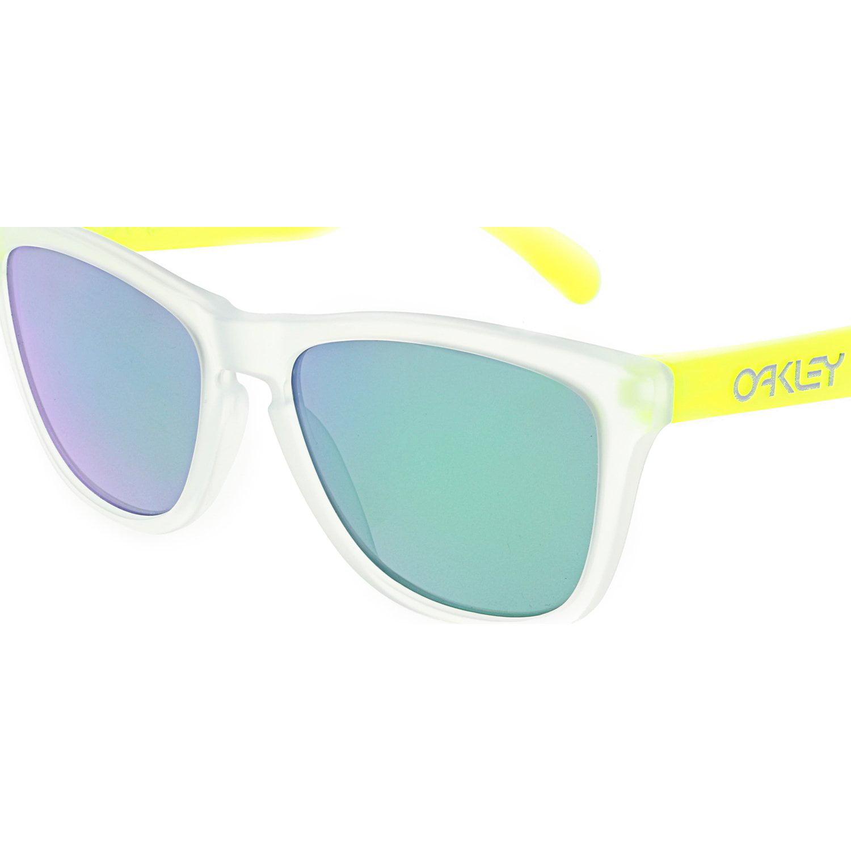 2fd390f3a9d4 Oakley Mirrored Frogskins OO9013-B4 Clear Wayfarer Sunglasses ...