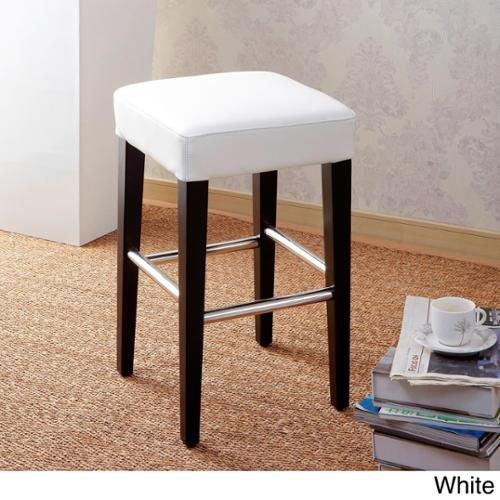 Cortesi Home 24 Inch Backless Counter High Stool In