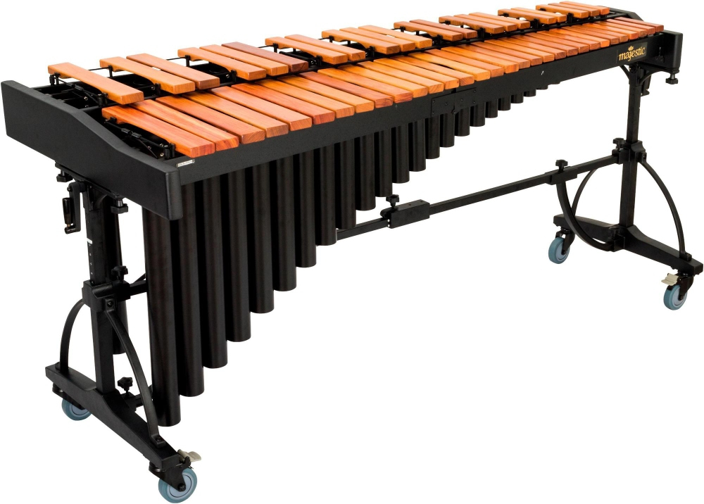 Majestic 4.3-Octave Deluxe Series Marimba with Padauk Bars by Majestic