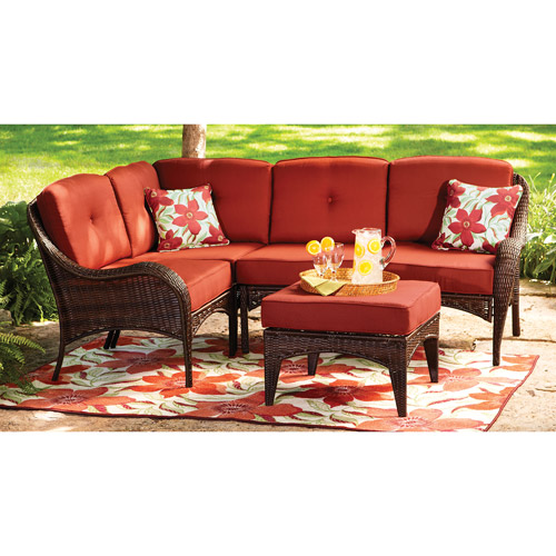 Better Homes and Gardens Lake Island 5-Piece Sectional Sofa Set