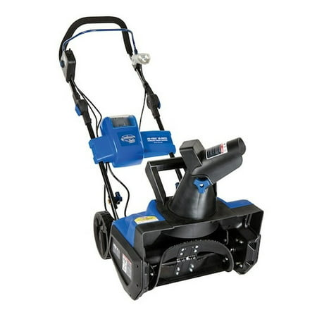 Snow Joe iON18SB Cordless Single Stage Snow Blower | 18-Inch · 40 Volt | (Best Single Stage Snow Blower)