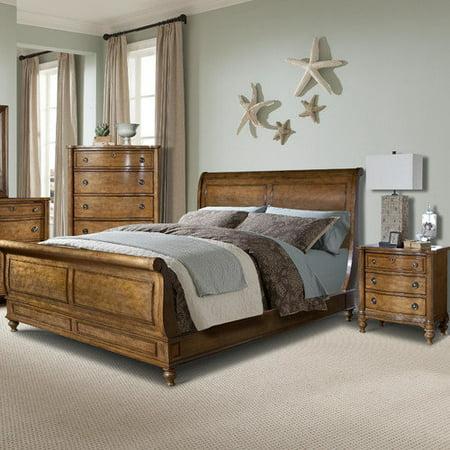 Kathy Ireland Bedroom Furniture : Vaughan Kathy Ireland by Furniture Cape Cod Hanover Sleigh Bedroom ...