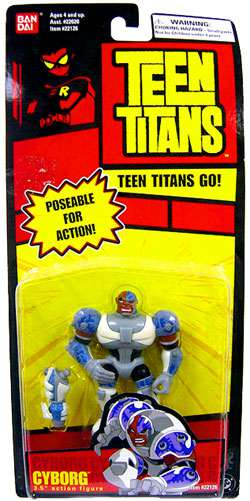 Teen Titans Go! Cyborg Action Figure [Poseable] by