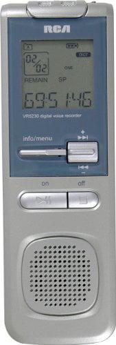 RCA VR5330R 2GB USB Digital Voice Recorder by RCA