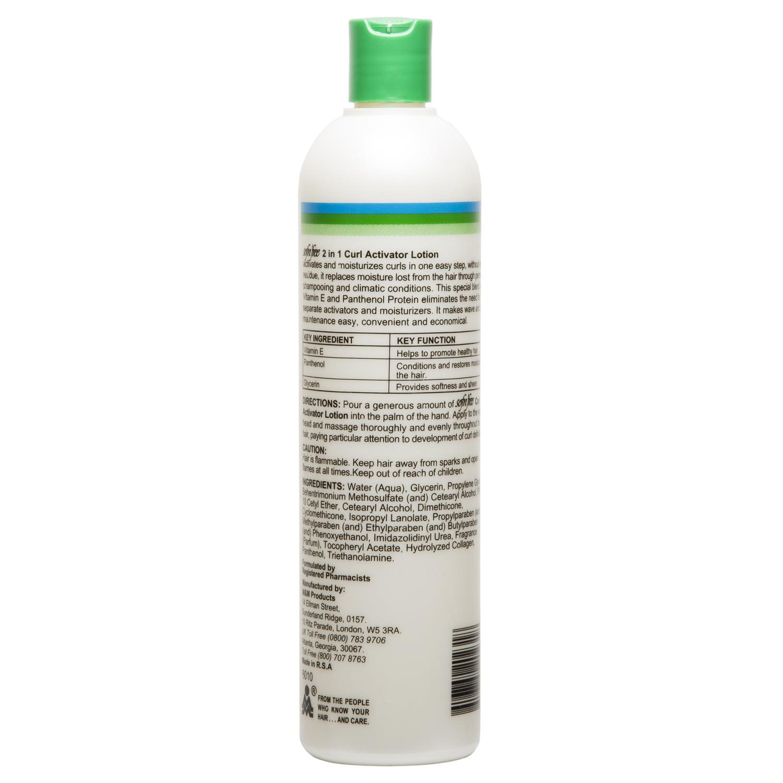 43608e8d5fb Sofn'Free Healthy Hair 2 In 1 Curl Activator Moisturizing Lotion 34 oz -  Walmart.com