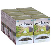 Two Leaves and a Bud, Inc., Organic Tropical Green Tea, 15 Count