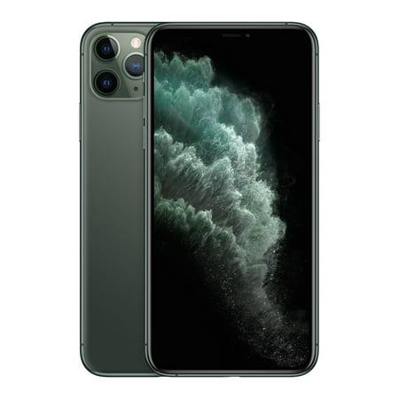 Refurbished Apple iPhone 11 Pro Max Midnight Green 256GB Fully Unlocked Smartphone