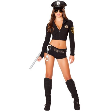 Womens Sexy Officer Hottie Costume](Halloween Hottie)
