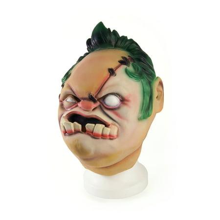 Dota 2 Halloween (DOTA 2 Adult Latex Costume Mask: Pudge + Digital)
