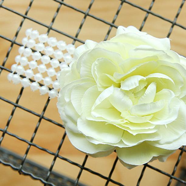 Bridesmaid Hand Flower Wedding Flowers Prom Pin-on Corsage//Wrist Corsage