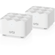 NETGEAR - Orbi RBK12 AC1200 Mesh WiFi System with Router and Satellite Extender