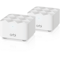 Orbi? Mesh WiFi System (2-pack). Up to 3,000 sq. ft. 1.2Gbps Dual-band WiFi (RBK12) By NETGEAR