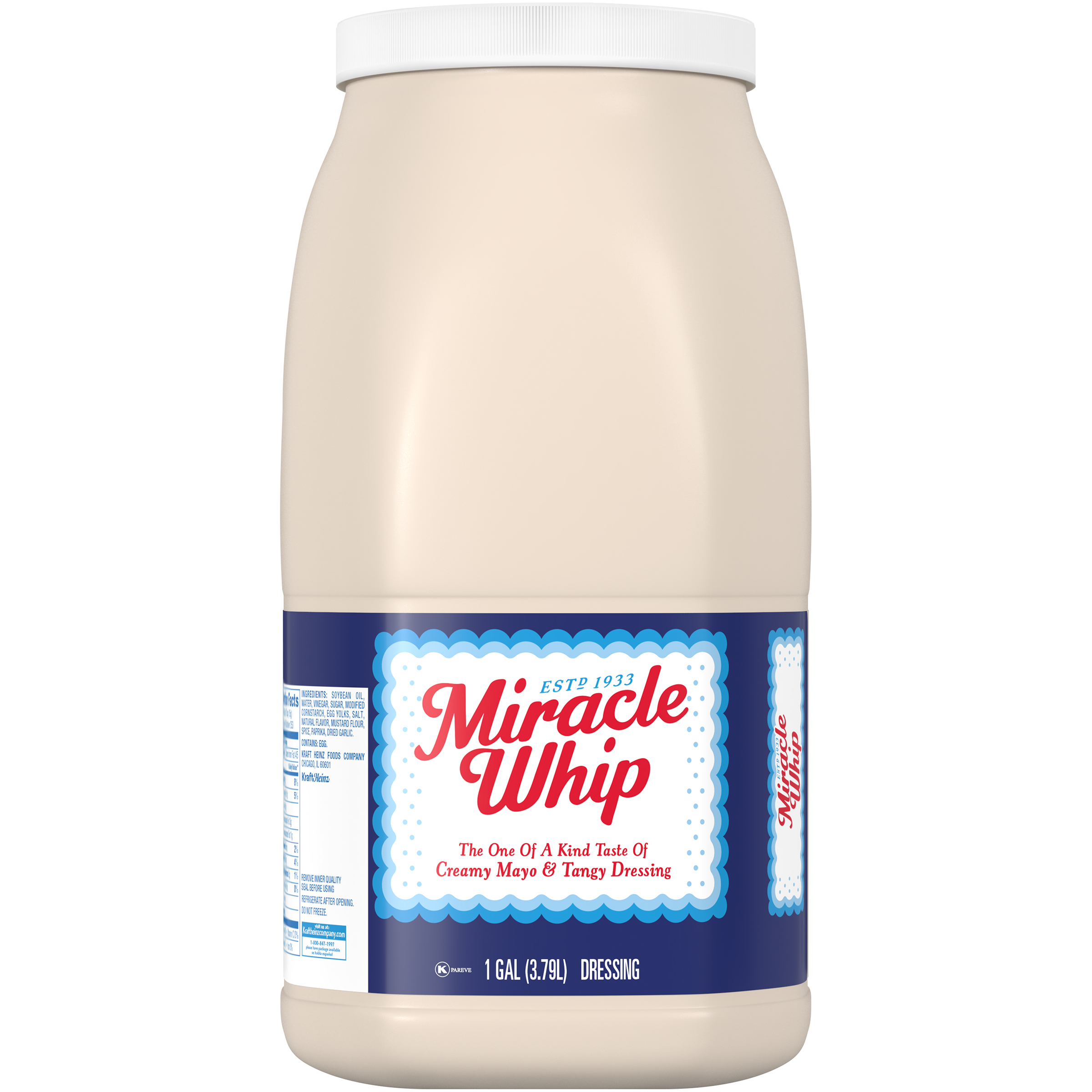 Miracle Whip Dressing 1 gal. Jug