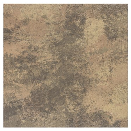 Achim Portfolio 12x12 2.0mm Self Adhesive Vinyl Floor Tile - Stone Travertine - 9 Tiles/9 sq. ft. ()