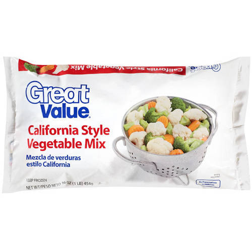 Great Value California Style Vegetable Mix, 16 oz