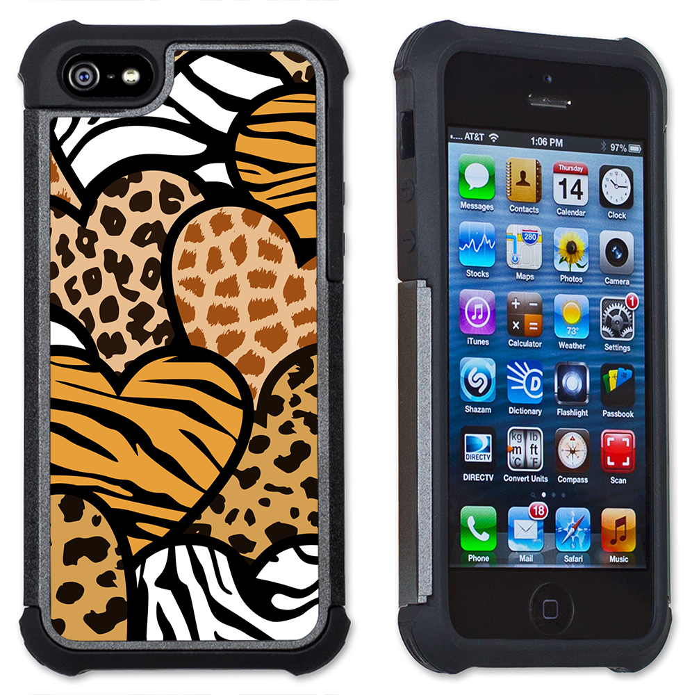 corners iphone case jungle maximum protection cell phone cover 3405